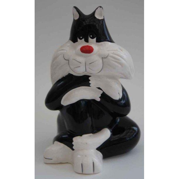Felix - the Cat<br>siddende