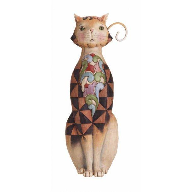 Chequered Cat