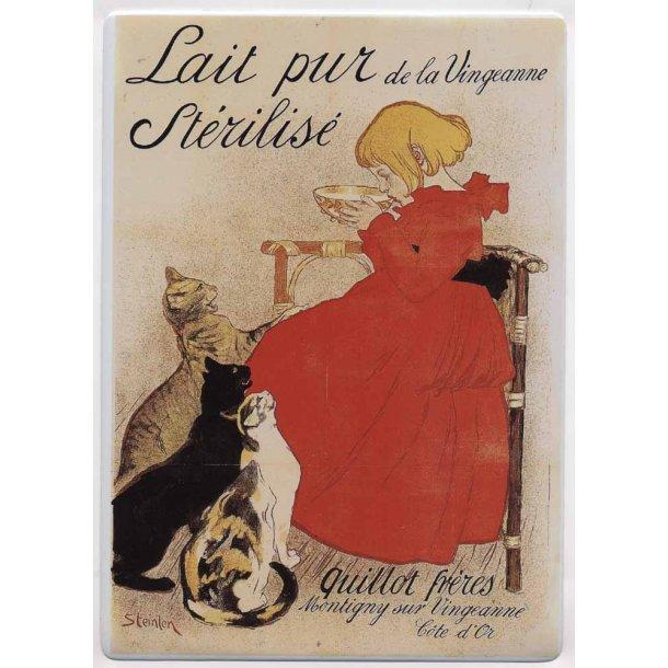 Lait pur Stérilisé<br>Mini-plakat
