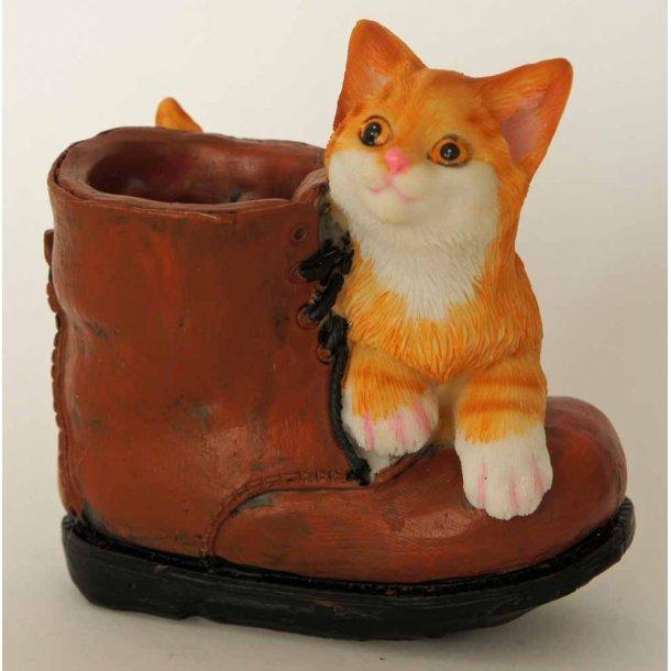 Dixie<br>Rød killing med støvle