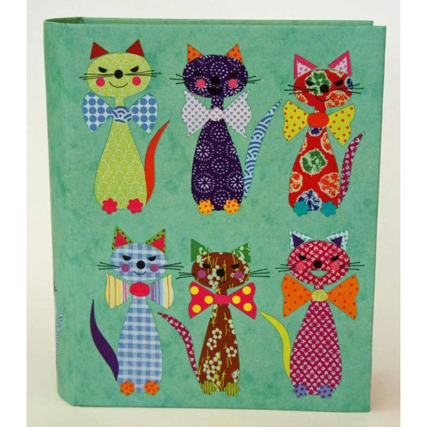 Patchwork Cats kortmappe