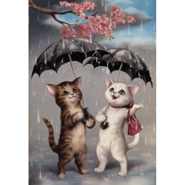 Raining Cats notesbog