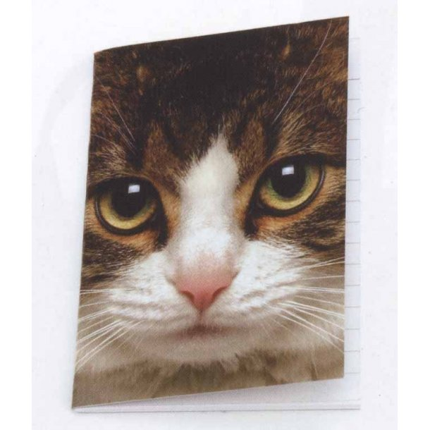 Tabby Cat mini notesbog