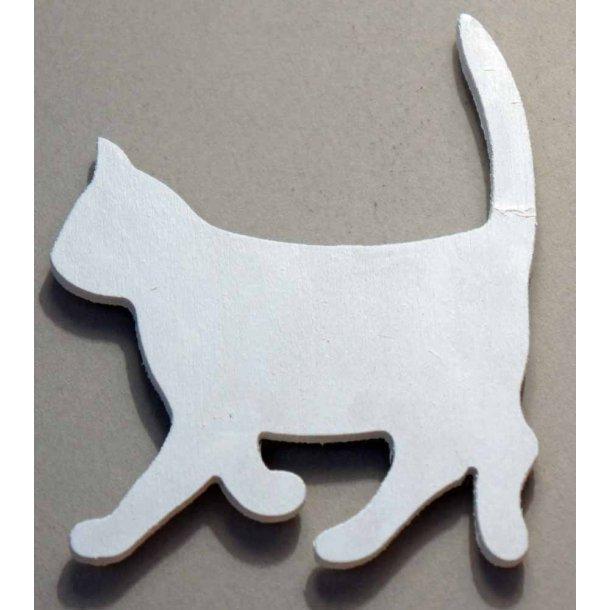 Cat walking<br>Hvid magnet