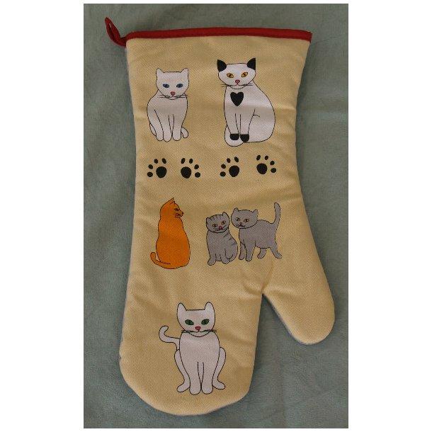 Grillhandske - Meow
