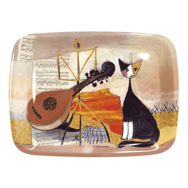 Musical Cat<br>Melamin serveringsbakke