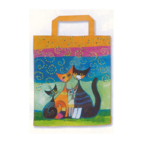 Cats Family shoppingbag<br>Rosina Wachtmeister