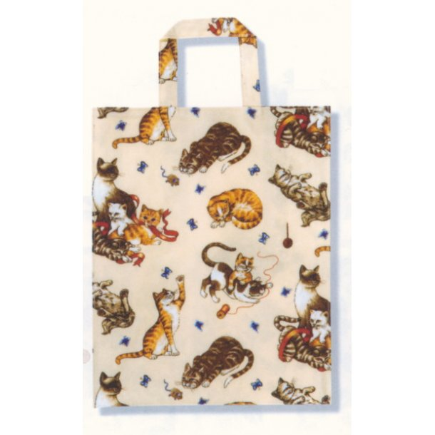 Butterfly Cats<br>Stor shoppingbag