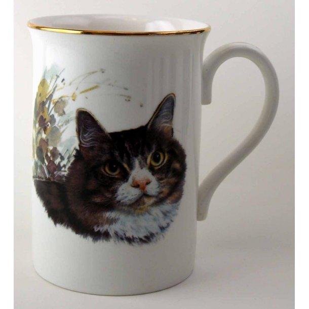 Slankt krus:<br>Portræt af en huskat