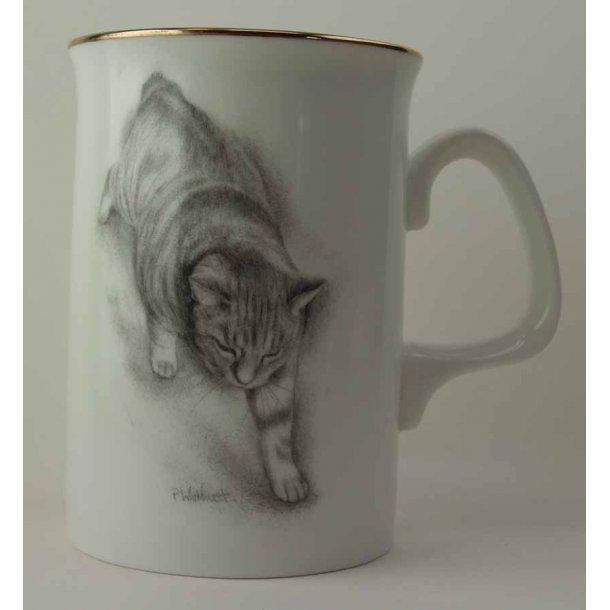 Højt, slankt krus<br>Manx Cat
