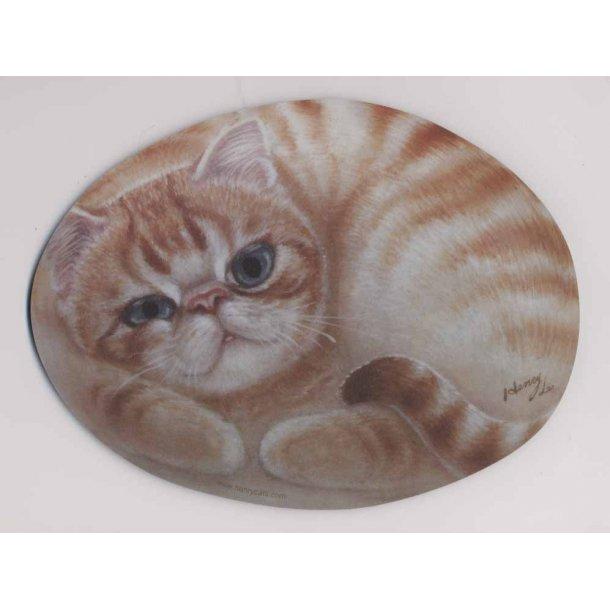 Katte-musemåtte<br>Design: Willie