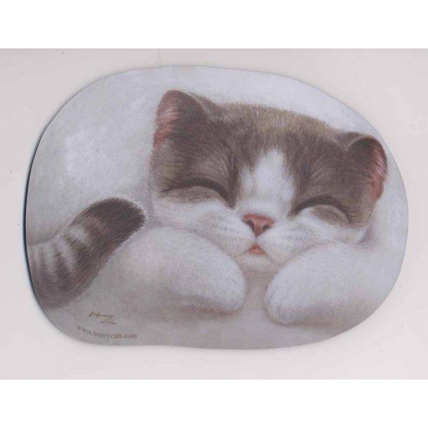 Katte-musemåtte<br>Design: Melody