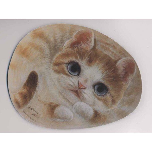 Katte-musemåtte<br>Design: Migo