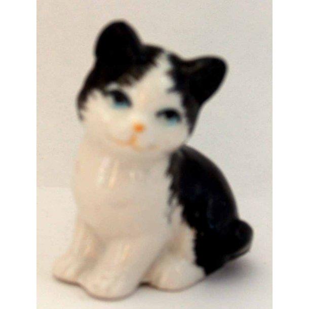 Dawn -<br>Lille sort/hvid kat