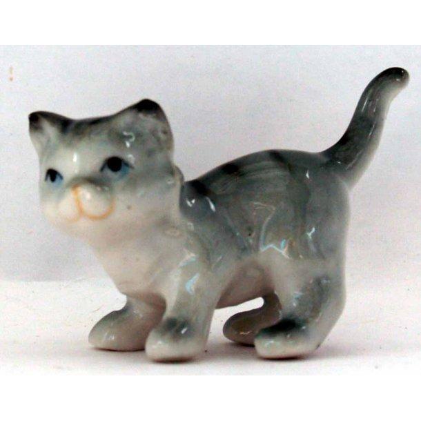 Zena -<br>Grå mini-kat