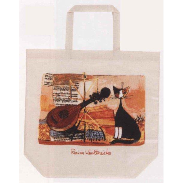 Musical Cat<br>Folde-ud-shopper