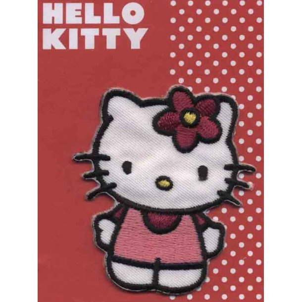Hello Kitty<br>i fin rød kjole