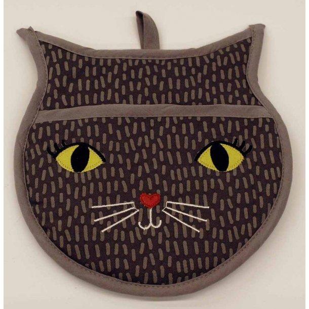 Kattehoved grydelap